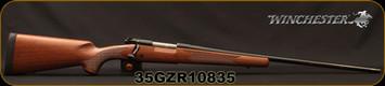 "Winchester - 270WSM - Model 70 Sporter - Bolt Action Rifle - Walnut Stock/Blued, 24"" Barrel, 3 Round Capacity, Mfg# 535202264, S/N 35GZR10835"
