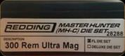 Redding - Master Hunter Die Set - 300 Rem Ultra Mag - 28288