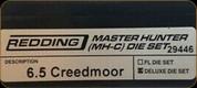 Redding - Master Hunter Deluxe Die Set - 6.5 Creedmoor - 29446