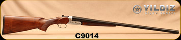 "Used - Yildiz - 12Ga/3""/28"" - Elegant A3-TM - Walnut Stock/Blued Barrels, 5pc. Multichokes - In original box"