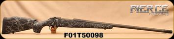 "Fierce - 30Nosler - Carbon Edge - Long Action - Black w/Grey Web Carbon Fiber Stock/Grey Titanium, 26""match-grade, stainless steel barrel, Mfg# 9400, S/N F01T50098"