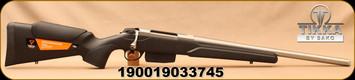 "Tikka - 243Win - T3x Varmint Stainless - Bolt Action Rifle - Black modular synthetic stock/Satin Stainless, 20""Threaded Heavy Barrel, 5rd Magazine, Mfg# TFTT15CL105MT"
