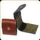 Levy's Leather - Oil Tan Leather Shell Pouch - Walnut - SN40-H-WAL