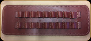 """Levy's Leather - Leather Cartridge Carrier - 3 1/2"""" Walnut Hi-Power Cartridge Carrier - SN42-H-WAL"""