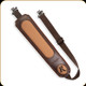 Levy's Leather - Tracker Series - Remington - Dark Brown Padded Rifle Sling - REM77RS-DBR