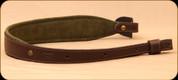 Levy's Leather - Euro Series - Dark Brown European Size Rifle Sling - EX112-DBR