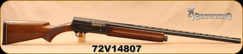 "Consign - Browning - 12Ga/3""/28"" - Auto 5 Magnum Twelve - Semi-Auto - Walnut Stock/Engraved Receiver/Blued Barrel - Made in Belgium"