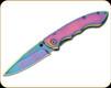 "Boker Magnum - Blaze - 2.9"" Blade - 440A - Steel Handle - 01MB255"