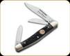 Boker - Traditional Series Medium Stockman - Jigged Black Bone - 110728C