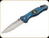 "Boker Magnum - Law Enforcement - 3.3"" Blade - 440A - Blue Aluminum Handle - 01MB365"