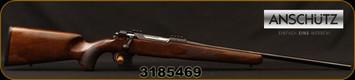 "Anschutz - 9.3x62 - Model 1782 D Classic - Oil-Finish Walnut Classic Stock w/German fish scale Checkering/Blued, 22.8""Barrel, Black Anschutz Hard Case, Mfg# 015311, S/N 3185469"