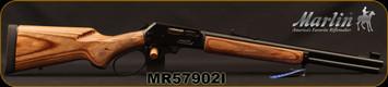 "Marlin - 45-70Govt - Model 1895GBL - Big Loop Lever Action, Laminate/Blued, 18.5""Barrel, Semi Buckhorn sights, 6-shot tubular magazine - MFG# 70456, S/N MR57902I"