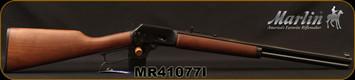 "Marlin - 45Colt - Model 1894CB45 - Cowboy Lever Action - American black walnut straight-grip stock/Polished Blued, 20""Tapered Octagonal Barrel, Mfg# 70444, S/N MR41077I"