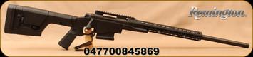 "Remington - 6.5Creedmoor - Model 700 PCR - Bolt Action Rifle - Magpul PRS Gen 3 Stock/Black Finish Precision Chassis, Square Drop Aluminum Handguard, 24""Threaded Barrel, 5 Round Detachable Magazine, Mfg# 84586"