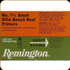 Remington - Small Rifle Bench Rest Primers - No. 7 1/2 - 100ct - 22628