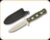 """Boker Plus - Steel Ranger - 4"""" Blade - 440C - Green G10 Handle - 02BO289"""