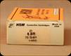 HSM - 6 BR - 75 Grain - Hornady V-Max - 20ct - HSM-6BR-1-N