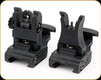 A.R.M.S. Inc - Front and Rear Sight - Black - 71L-F&R