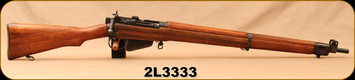 """Consign - Lee Enfield - 7.62NATO - No.4 MK1 DCRA - Long Branch - DCRA Experimental Laminate Stock #25/Blued, 24.5""""Barrel, Rebarreld to 7.62 by Canadian Arsenal"""