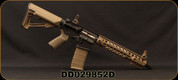 """Consign - Daniel Defense - 5.56NATO - M4 Carbine - FDE Adjustable MagPul Stock/MK12 Precision Lower/Daniel Defense Cold Hammer Forged 13.5""""Barrel, Geissele SSA Trigger, Flip-Up Sights, 30rd Pmag - Restricted - Less than 300 rounds fired"""