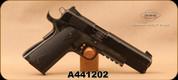 "Consign - GSG - 22LR - Model 1911 - Black Double-Diamond Grips/Black Anodized Finish, 5""Barrel, Adjustable aluminum skeleton trigger - In original GSG hard case"