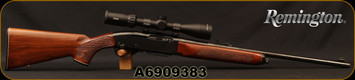 "Used - Remington - 30-06Sprg - Model 742 Woodsmaster - Semi-Auto Rifle - Walnut/Blued, 22""barrel, c/w 2 magazines, Cabelas Caliber Specific 30-06 Rilfescope, EXT reticle"