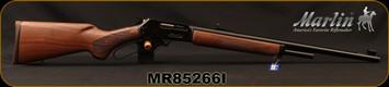 "Marlin - 45-70Govt - Model 1895 - Lever Action Rifle - Walnut Stock/Blued Finish, 22""Barrel, 4 Rounds, Mfg# 70460, S/N MR85266I"