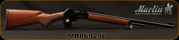 "Marlin - 45-70Govt - Model 1895 - Lever Action Rifle - Walnut Stock/Blued Finish, 22""Barrel, 4 Rounds, Mfg# 70460, S/N MR86929I"