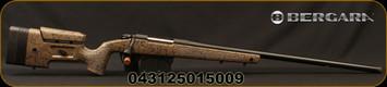"Bergara - 300PRC - B-14 HMR (Hunting & Match Rifle) - Bolt Action Rifle - Adjustable HMR Synthetic Stock w/mini chassis/Blued, 26""Threaded(5/8x24) Barrel, 5 Round AICS Detachable Box Magazine, 1:9""Twist, Mfg# B14LM358"