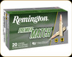 Remington - 6mm Creedmoor - 112 Gr - Premier Match - Open-Tip Match - 20ct - 27651