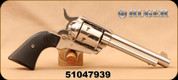 """Consign - Ruger - 357Mag - New Vaquero KNV35 - Single Action Revolver - Black Synthetic Grips/High Gloss Stainless Finish, 5.5""""Barrel - In original case"""
