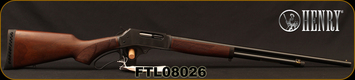 "Henry - 410Ga/2.5""/24"" - Lever Action Shotgun - American Walnut Stock/Blued Finish, 5 Round Capacity, Brass Bead Front Sight, Mfg# H018-410, S/N FTL08026"