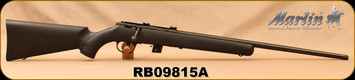 """Consign - Marlin - 22LR - XT-22 - Bolt Action Rifle - Black Synthetic Stock/Blued, 22""""Micro Groove, Threaded Barrel, Unfired"""