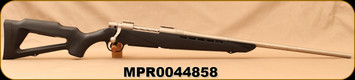 """Consign - Mossberg - 7mmRM - 4x4 Skeleton - Black Synthetic/Stainless, 24""""Barrel - Only 20 rounds fired"""