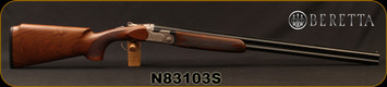 "Beretta - 20Ga/3""/28"" - Model 691 Vittoria - Grade AA+ Walnut/Floral Renaissance Style Engraved Receiver/Blued Barrels, Optima Bore HP, Single Selective Trigger"