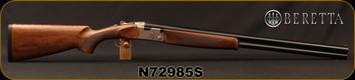 """Beretta - 12Ga/3""""/28"""" - Model 686 Silver Pigeon I - O/U - Walnut Stock/Engraved receiver/Blued Barrels, 6x6Rib, Mfg# 3W46P1L2AA311, S/N N72985S"""