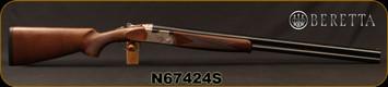 """Beretta - 12Ga/3""""/30"""" - Model 686 Silver Pigeon I - O/U - Walnut Stock/Engraved receiver/Blued Barrels, 6x6Rib, Mfg# 3W46P1L3AA311, S/N N67424S"""