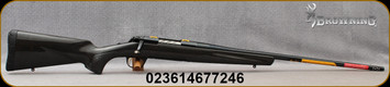 "Browning - 6.5Creedmoor - X-Bolt Medallion Carbon Fiber - Gloss 2nd Generation Carbon Fiber wrap stock/Engraved Receiver/Polished Blued finish, 22"" - Mfg# 035425282"