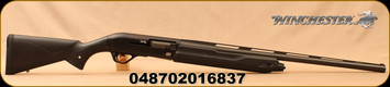 "Winchester - 12Ga/3""/26"" - SX4 Compact - Semi Auto Shotgun - Matte Black Synthetic Stock/ Matte Black Finish, 4 Round Capacity, TruGlo Fiber Optic Front Sight, Mfg# 511230391"