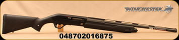 "Winchester - 20Ga/3""/24"" - SX4 Compact - Semi Auto Shotgun - Matte Black Synthetic Stock/Matte Black Finish, 4 Round Capacity, TruGlo FO Front Sight, Mfg# 511230690"