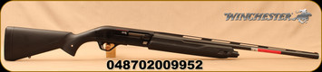 "Winchester - 20Ga/3""/26"" - SX4 20 Gauge  - Semi Auto Shotgun - Black Synthetic Stock/Black Finish, 4 Round Capacity, TruGlo FO Front Sight, Mfg# 511205691"