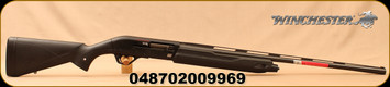 "Winchester - 20Ga/3""/28"" - SX4 20 Gauge  - Semi Auto Shotgun - Black Synthetic Stock/Black Finish, 4 Round Capacity, TruGlo FO Front Sight, Mfg# 511205692"
