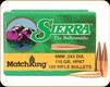 Sierra - 6mm - 110 Gr - MatchKing - Hollow Point Boat Tail - 100ct - 1575