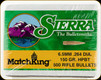 Sierra - 6.5mm - 150 Gr - MatchKing - Hollow Point Boat Tail - 500ct - 1755C