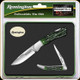 Buck Knives - Remington Special Edition Knife & Tin Set - Green Faux Stag Handle - R60026TS
