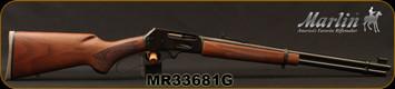 "Marlin - 35Rem - Model 336C - Lever Action - American Black Walnut Stock/Blued, 20"" Barrel w/Micro-Groove Rifling, 6-shot Tubular Magazine - Mfg #70506, S/N MR33681G"