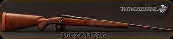 "Winchester - 30-06Sprg - Model 70 Featherweight High Grade - Bolt Action Rifle - High Grade Walnut/Polished Blued, 22""Barrel, Mfg# 535137228, S/N 35CZZ11576"