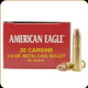 Federal - 30 Carbine - 110 Gr - American Eagle - Full Metal Jacket - 50ct - AE30CB