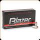 Blazer - 380 Auto - 95 Gr - Full Metal Jacket - 50ct - 3505