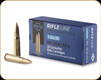 PPU - 7.62x39 - 123 Gr - Rifle Line - Pointed Soft Point - 20ct - PP76239P
